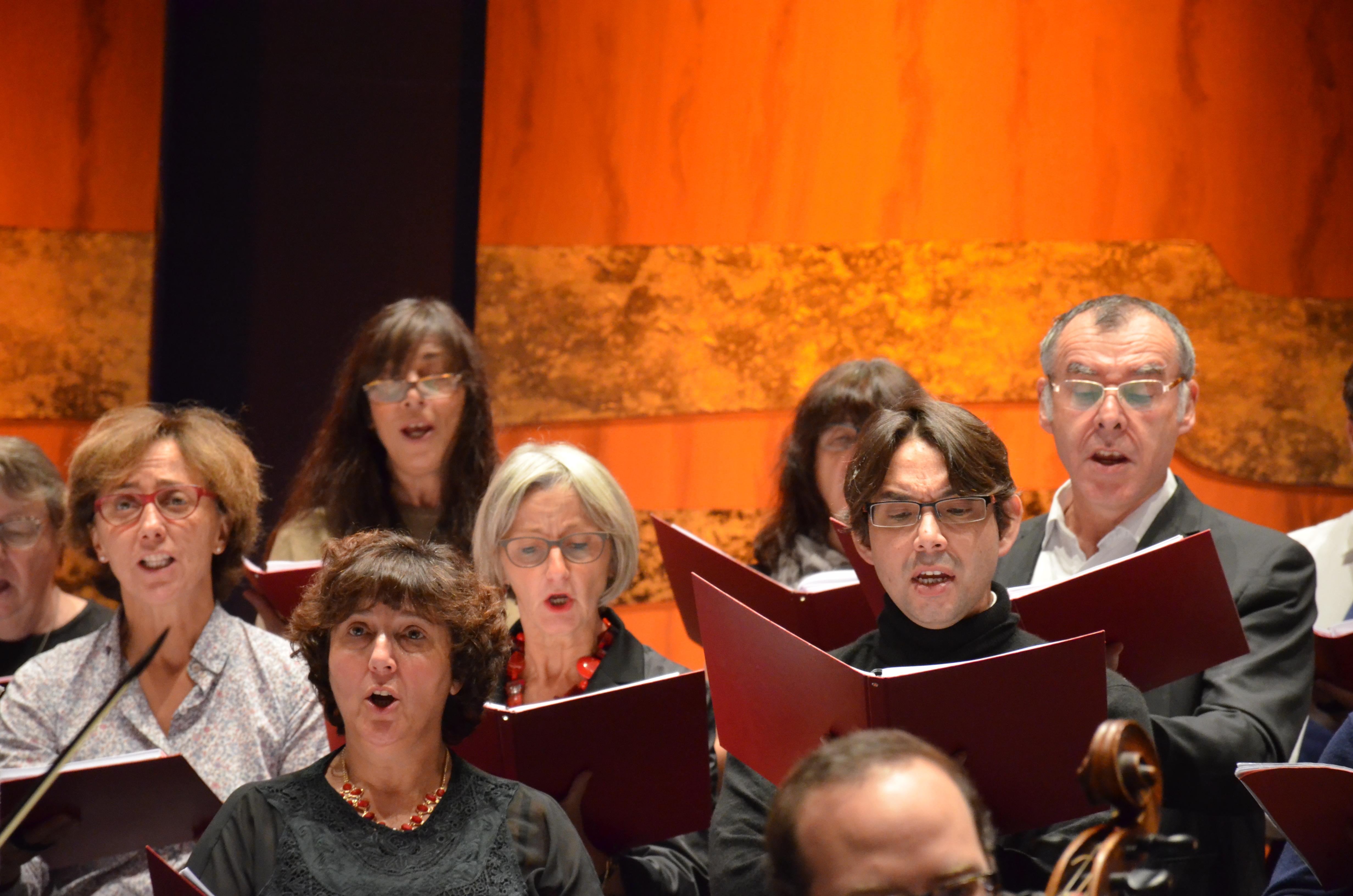 Coaching vocal arpège en répétition