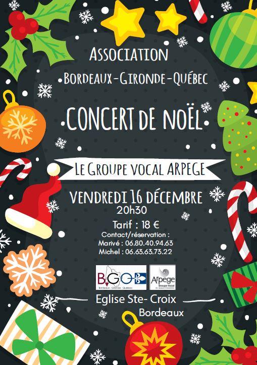 Concert Noel Arpège